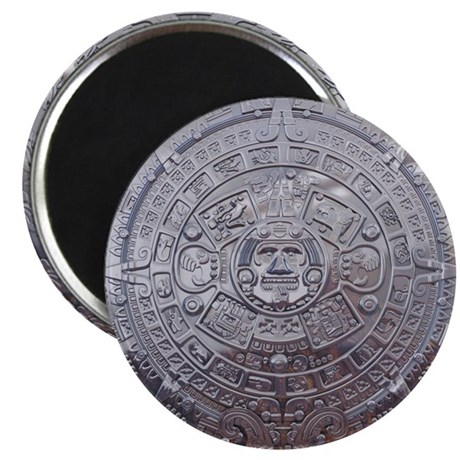 Modern Mayan Calender Magnet