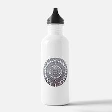 Modern Mayan Calender Water Bottle