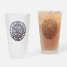 Modern Mayan Calender Drinking Glass