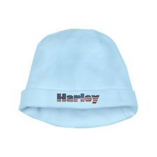 American Harley baby hat