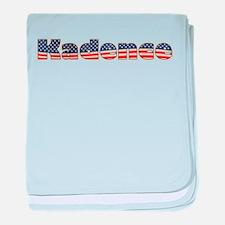 American Kadence baby blanket
