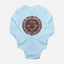 Mayan Calender Long Sleeve Infant Bodysuit