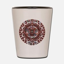 Mayan Calender Shot Glass