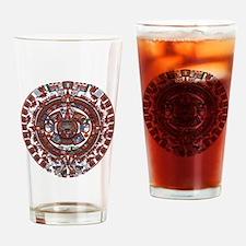 Mayan Calender Drinking Glass