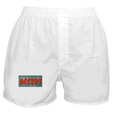#OccupyWallStreet Boxer Shorts