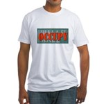 #OccupyWallStreet Fitted T-Shirt
