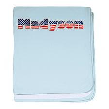 American Madyson baby blanket
