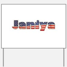 American Janiya Yard Sign