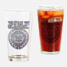 Modern Mayan 2012 Calender Drinking Glass