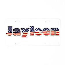 American Jayleen Aluminum License Plate