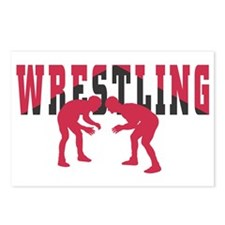 Wrestling 2 Postcards (Package of 8)