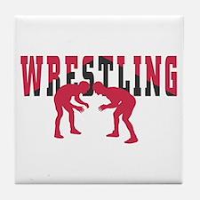 Wrestling 2 Tile Coaster