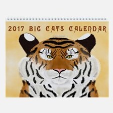 2017 Big Cats Wall Calendar
