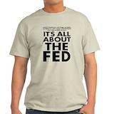 Alex jones tshirts Mens Light T-shirts