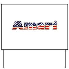 American Amari Yard Sign