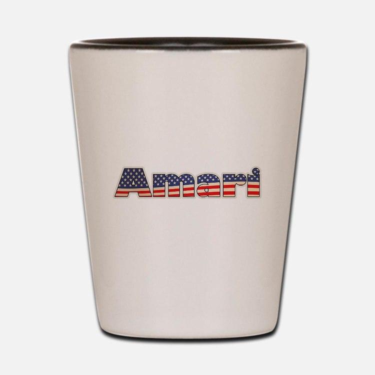American Amari Shot Glass