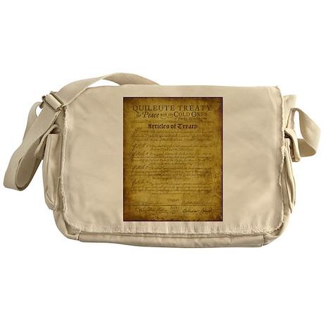Twilight Cullen Treaty Messenger Bag