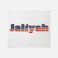 American Jaliyah Throw Blanket