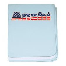 American Anahi baby blanket