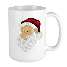 Jolly Santa Christmas Mug