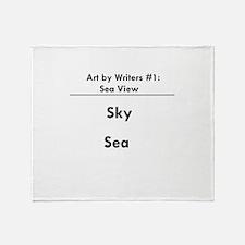 Sea View Throw Blanket