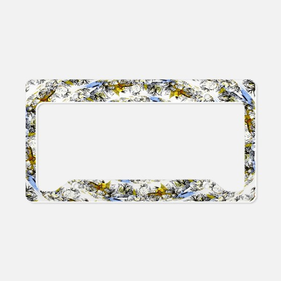 Fine Art Designed License Plate Holder