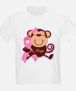 Monkey Cancer Hope T-Shirt