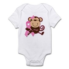 Monkey Cancer Hope Infant Bodysuit