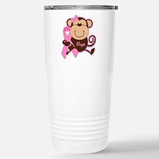 Monkey Cancer Hope Travel Mug