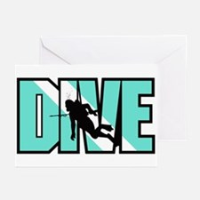 Dive Greeting Cards (Pk of 10)