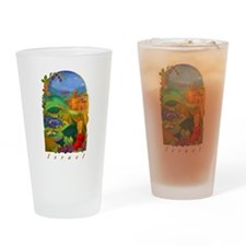 Land Of Israel Drinking Glass