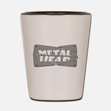 Metal Head Shot Glass