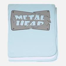 Metal Head baby blanket