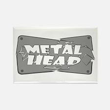 Metal Head Rectangle Magnet