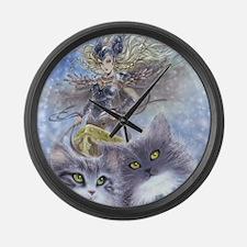 Freyja Large Wall Clock