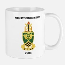 DUI - Sergeants Major Academy Cadre with Text Mug