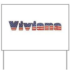 American Viviana Yard Sign