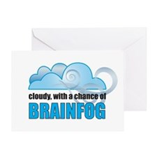 Chance of Brainfog Greeting Card