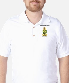 DUI - Sergeants Major Academy HQ with Text T-Shirt