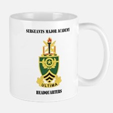 DUI - Sergeants Major Academy HQ with Text Mug