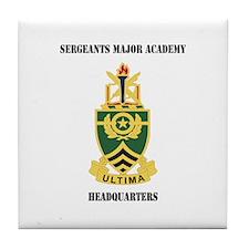 DUI - Sergeants Major Academy HQ with Text Tile Co