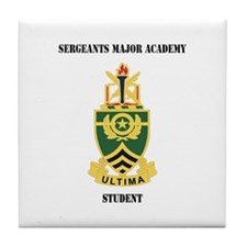 DUI - Sergeants Major Academy Students with Text T