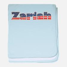 American Zariah baby blanket
