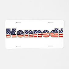 American Kennedi Aluminum License Plate