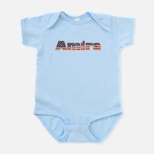 American Amira Infant Bodysuit