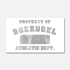 Boerboel Athletic Dept Car Magnet 20 x 12