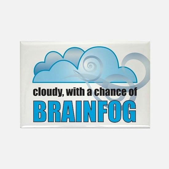 Chance of Brainfog Rectangle Magnet