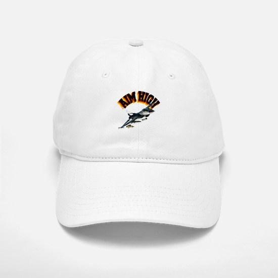 F16 Aim High Baseball Baseball Cap