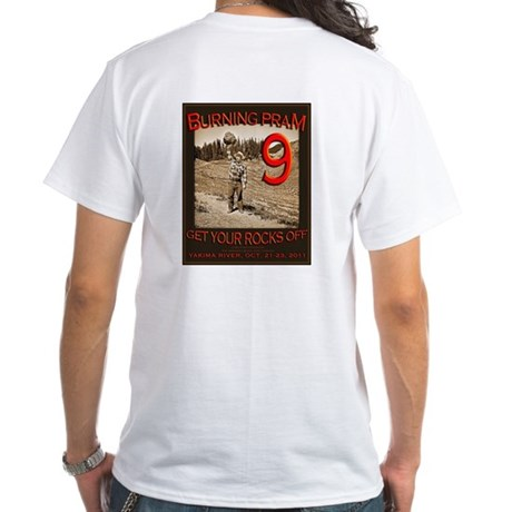 BPIX-(Big image on back) White T-Shirt