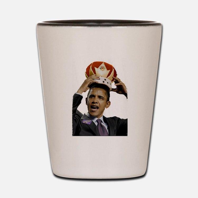 King Barack Obama Shot Glass